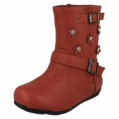 Wholesale Girls Boots 12 Pairs Sizes 5-10  H4106