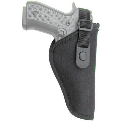 Gunmate Hip Holster Size 12 Fits Large-Frame Pistols Black
