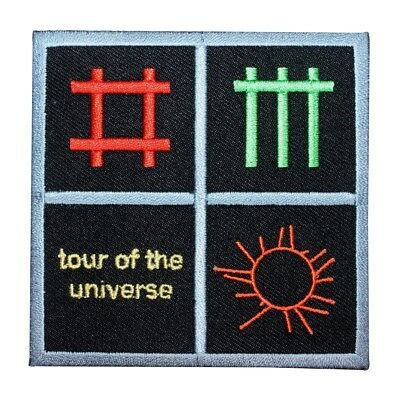 "Depeche Mode Worldwide ""Tour of the Universe"" Music Band Iron On Applique Patch"