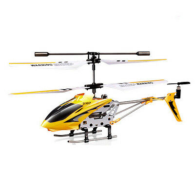 Genuine Syma S107G 3-Channel 3.5CH Mini Remote Control RC Helicopter Gyro LED IL