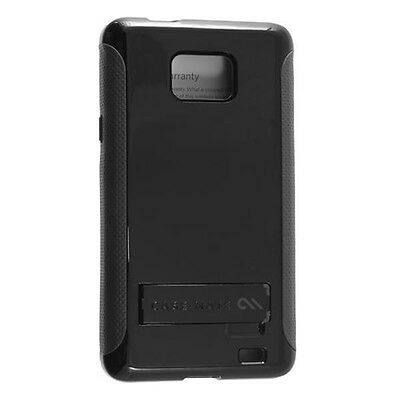 Case-Mate POP! Case For Samsung Galaxy S II S2 SGH-i777 Black Gray Cover Shell