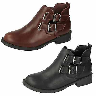 Wholesale Girls Ankle Boots 16 Pairs Sizes 10-3  H5035