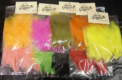 Gordon Griffiths Turkey Marabou Feathers for Fly Tying  - 15 Plumes (BOGOF Deal)