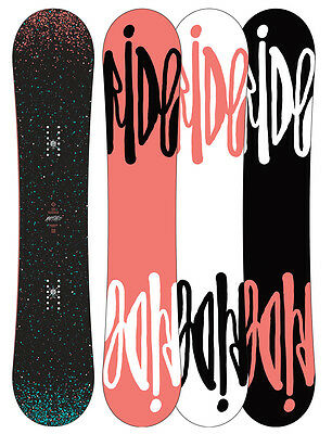 Ride Rapture Womens Snowboard Rocker New 2014 Beginners Board