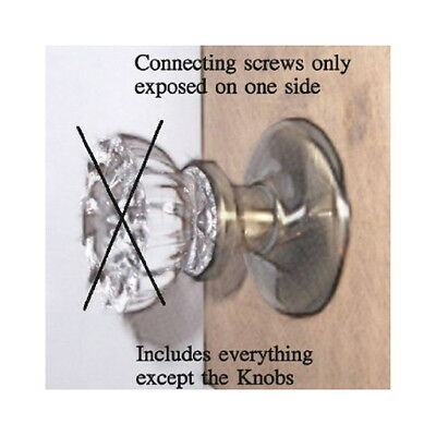 Privacy Retrofit Kit for Antique Knobs in Modern Doors-Universal-fit all Knobs