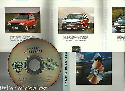 Lancia Classical CD Y10 GT Delta HF Turbo Dedra Thema Mint Unused From New