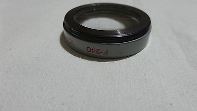 F=240   35.5x0.5 0,5 light filter 35,5mm for Industar-50-2 LENS   5278