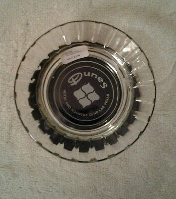 VTG Las Vegas glass ashtray Dunes hotel and country Club
