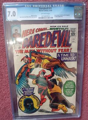 MARVEL Comics DAREDEVIL CENT COPY VOL 1 Issue 11 CGC 7.0  1964