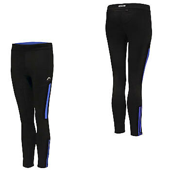 More Mile More-Tech Long Junior Running Tight - Black