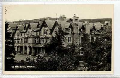 (Gt332-432) Real Photo of Fife Arms Hotel, BRAEMAR c1950 EX