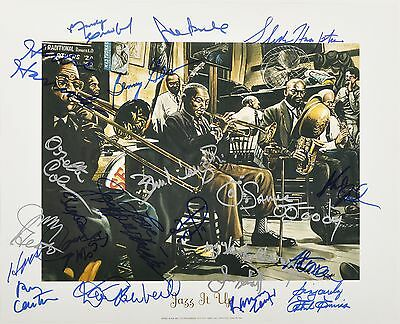 Jazz Legends - Autographed 16x20 Poster - Signed by 20 with Dave Brubeck