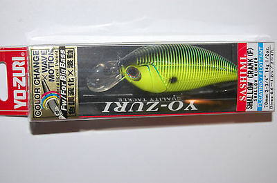 "1//2 oz Yozuri Sashimi Shallow Crank Dives 2 to 4 ft 2 3//4/""  R1060-CCK"
