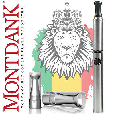 The Vape Co Mont Dank 2.0 Slow Vape Concentrate Pen Kit - Stainless Silver