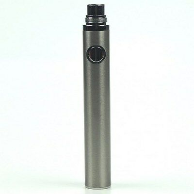 Vape Co EVOD style 900mAh Lithium Ion Battery - Stainless