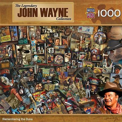 The Legendary John Wayne Collection Jigsaw Puzzle Remembering The Duke