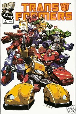 Transformers: Generation 1 #3 (Vol.1)  (Dreamwave)