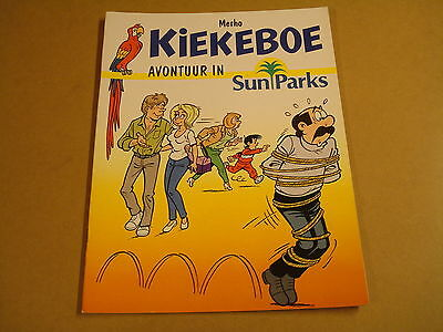 Reclame Strip / Kiekeboe - Avontuur In Sunparks