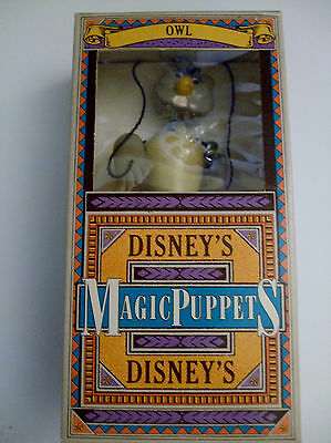 Disney Puppet Owl Winnie the Pooh Magic Boxed Puppet In Box