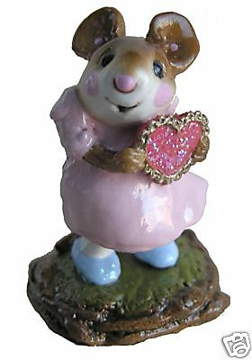 I'M YOURS by Wee Forest Folk, WFF# M-080b, PINK Retired 2002