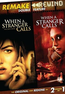 REMAKE REWIND WHEN A STRANGER CALLS 1979 + 2006 New DVD Double Feature