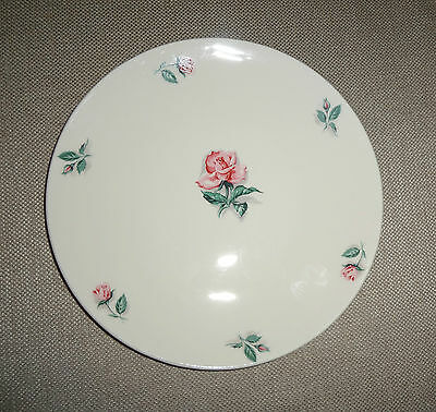 Lot of 3 Knowles Dinnerware China Pink Rose & Leaf Pattern Salad Plates  51-7