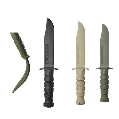 Imi Defense Rubber Training Knife Dagger Self Defense Airsoft