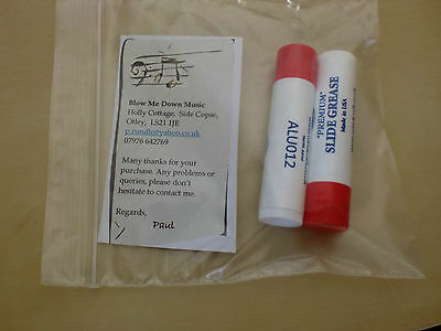 TWIN PACK WINDCRAFT PREMIUM SLIDE GREASE Made in USA LIPSTICK STYLE JUST £3.25