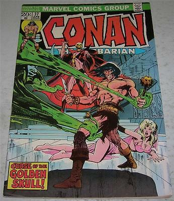 CONAN THE BARBARIAN #37 (Marvel Comics 1974) Neal Adams art (FN)