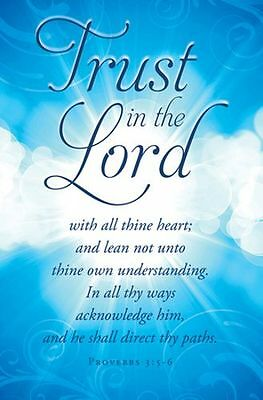 Trust In the Lord (Proverbs 3:5-6) Bulletins, 100