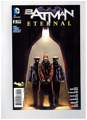 BATMAN ETERNAL #2  1st Printing - The New 52!                   / 2014 DC Comics