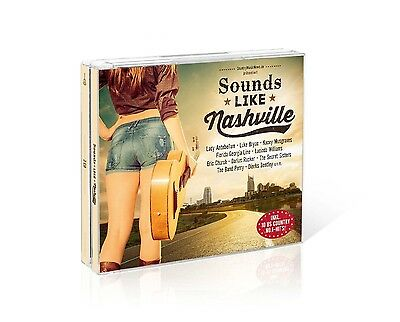 Sounds Like Nashville - Box-Set - Lady Antebellum/Luke Bryan/+ 3 Cd Neu