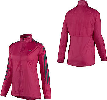 Adidas Response DS Wind Ladies Running Jacket - Pink