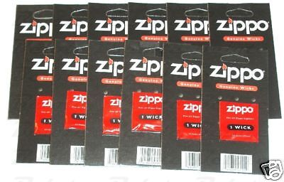 Zippo Genuine Replacement Wick 12 Pack ACCESSORIES NEW