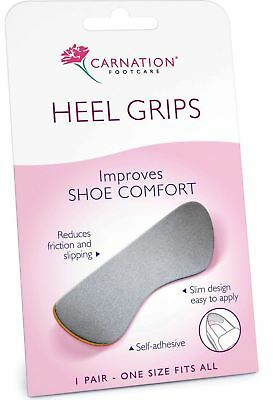 Carnation Heel Grips Improves Shoe Comfort | One Size Fits All