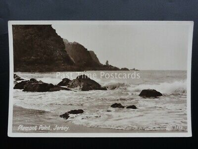 Channel Islands JERSEY Plemont Point Bay - Old RP Postcard by Photo Precision