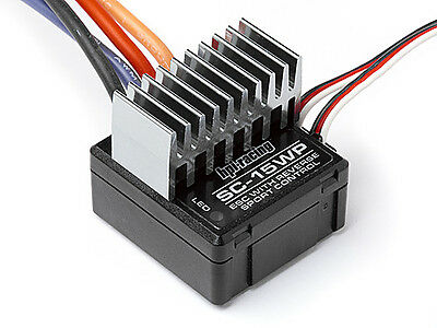 Hpi Sc-15Wp Waterproof Electronic Speed Control 105906  (For Brushed Motors)