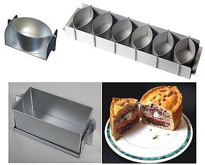 Alan Silverwood  Little John or Simple Simon Game Pie Tart Moulds Molds Tins