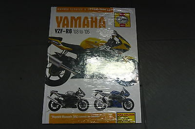 YAMAHA  new  haynes no. 4601 YZF R6 03 to 05  new in packet