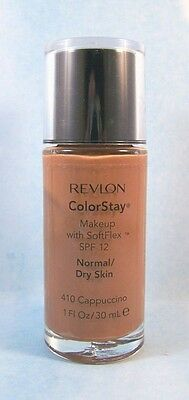 Revlon ColorStay Foundation Makeup Normal Dry Skin - Cappuccino 410