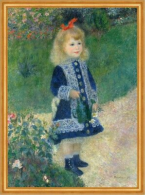 A Girl with a Watering Can Pierre-Auguste Renoir Gießkanne Mädchen B A2 03100