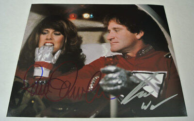 ROBIN WILLIAMS + PAM DAWBER Signed TV Show Mork & Mindy AUTOGRAPHED Photograph