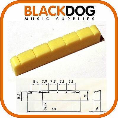 48mm 6 string Guitar Top Nut