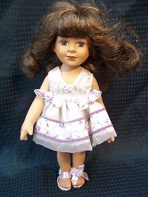 "So Pretty 10.5"" ALL PORCELAIN DOLL by Show Stoppers"