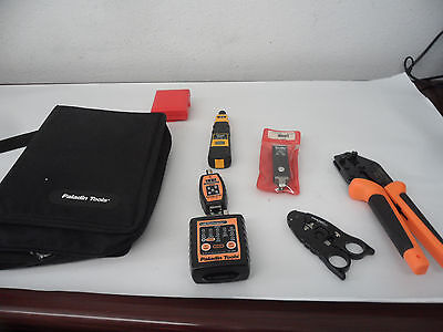 Paladin Tools Kit - Tester, Termination Tool, D Blade Case, SureStrip, CrimpALL