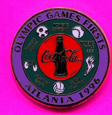 1996 OLYMPIC PIN BEACH VOLLEYBALL PIN OLYMPIC GAMES FIRST PIN #414594