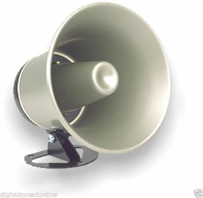 Viking Weather Resistant Indoor/Outdoor Paging Speaker Horn (25AE)