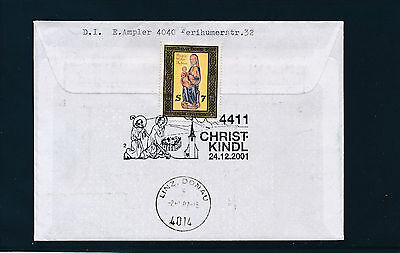 Christkindl-Reco Brief  24.12.2001  LZ Himmelberg      20/2/15