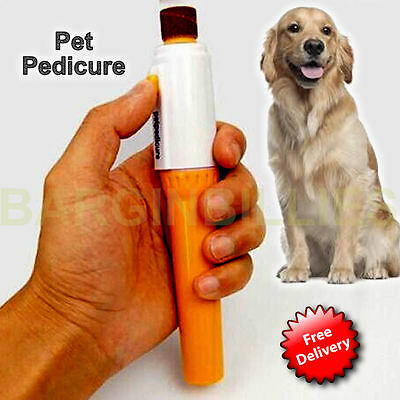 New Pet Pedicure Battery Operated Nail File Drill Manicure Machine hand Held