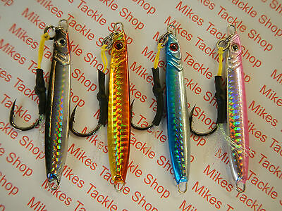 Tsunami Frenzy Jigs Spinners with Assist Hooks